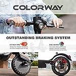 COLORWAY-CX900-Monopattino-Scooter-Elettrico-Pieghevole-con-App-Batteria-elettrica-75Ah-Motore-380W-velocit-Massima-25KM-H-Super-Resistente-agli-Urti-85-Pollici