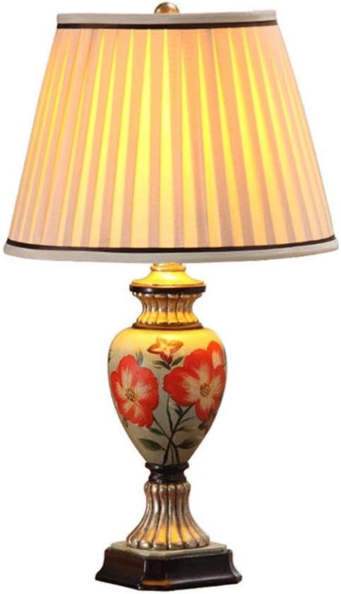 Pintado a Mano lámpara de Mesa lámpara de Mesa Jardín Americano ...