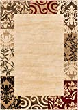 Well Woven Barclay Vane Willow Damask Beige Modern Area Rug 5'3″ X 7'3″ Review
