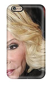 Iphone 6 Case Cover - Slim Fit Tpu Protector Shock Absorbent Case (joan Rivers Photo ) hjbrhga1544