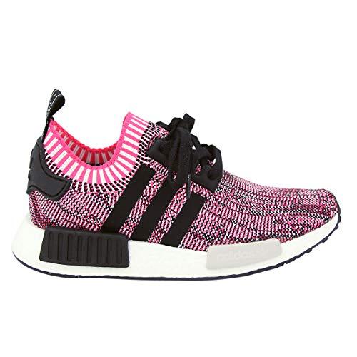 adidas Originals Women's NMD_r1 W Pk Sneaker (9 B(M) US) Pink/Black/White
