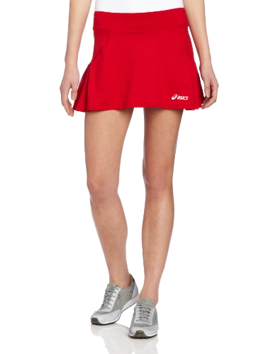 Asics Women's Love Skort, Large, Red