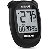 Meilan M3 Mini computadora GPS para bicicleta, odómetro inalámbrico y velocímetro para bicicleta IPX5, resistente al…