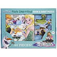 Deals on Disney Frozen First Look and Find Board Book 40 Piece Puzzle