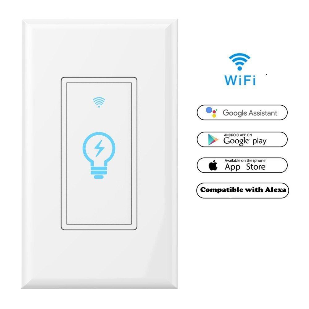 Smart Wi Fi Light Switch In Wall Phone Remote Control Wireless