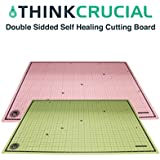 Durable 24x18 Self Healing Reversible Cutting Mat, by Think Crucial