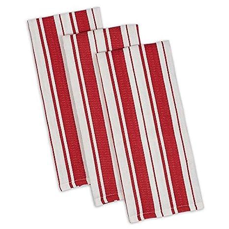 DII Design Imports Heavyweight Dishtowel Set of 3 (Tango)