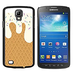 Eason Shop / Premium SLIM PC / Aliminium Casa Carcasa Funda Case Bandera Cover - Crema de la galleta dulces Summer Sun - For Samsung Galaxy S4 Active i9295