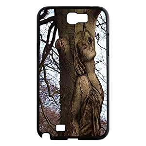 Incredible body painting art PC Hard Plastic phone Case Cover For Samsung Galaxy Note 2 Case ZDI024625