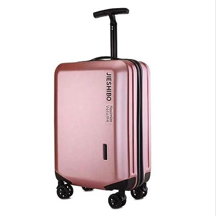 Amazon.com: AQWWHY Maleta de equipaje con marco de aluminio ...