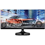 "LG 29UM58-P - Monitor de 29"" (UltraWide Full HD, panel IPS, pantalla LED panorámico 21:9, resolución UXGA 2560 x 1080, brillo 250 cd/m2, respuesta 5 ms, HDMI, H-Frecuencia 30 - 90 KHz, modo juego) color negro"