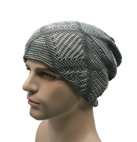 MASTER sombreros los sombreros de tapas Los beanie ski Navidad caliente Gray punto sombreros Light hombres gorros campos carácter café tejidos invierno Men's Halloween de rwEFCr