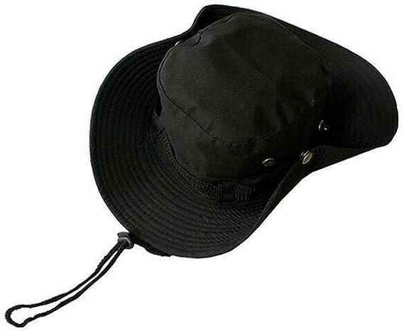 Panama Rain Hat Waterproof Bucket Hats Foldable Wide Brim
