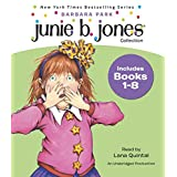 Junie B. Jones Collection: Books 1-8: #1 Stupid Smelly Bus; #2 Monkey Business; #3 Big Fat Mouth; #4 Sneaky Peeky Spyi ng; #5 Yucky Blucky Fruitcake; #6 Meanie Jim's Bday; #7 Handsome Warren; #8 Mon
