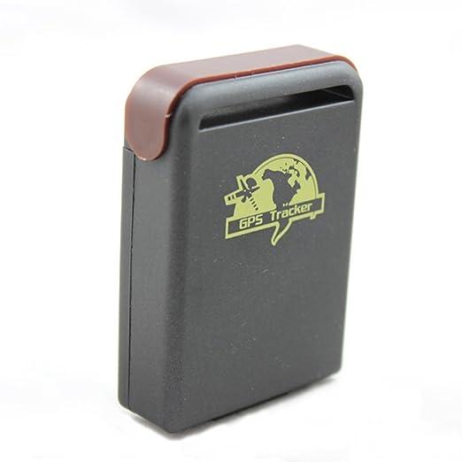 Electro-Weideworld - TK102-2 GPS GSM GPRS del perseguidor del coche del vehículo del espía Mini dispositivo de seguimiento: Amazon.es: Electrónica