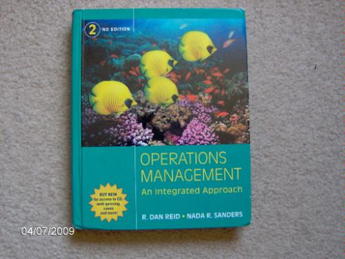 Operations Management an Integrated Approach  2nd Edition ebook