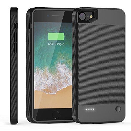 2800mah External Battery Case iPhone 7 (Black) - 4