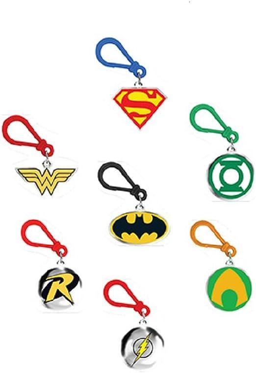 DOG TAGS BACKPACK CLIPS BATMAN VS SUPERMAN WONDER WOMAN 36 DC COMICS RINGS