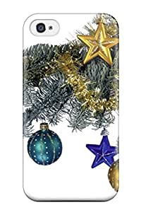 Hot BDYlwIQ8645TKxco Case Cover Protector For Iphone 4/4s- Holiday Christmas
