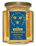 Savannah Bee Acacia Honeycomb in a Jar 12 oz.
