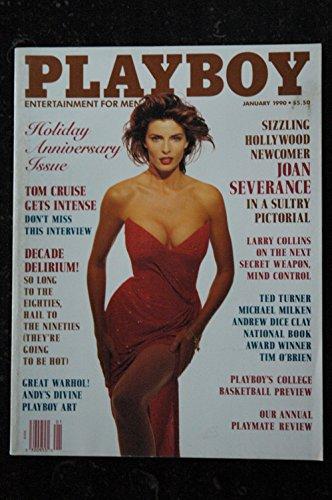 PLAYBOY US 1990 01 JOAN SEVERANCE TOM CRUISE Peggy McIntaggart