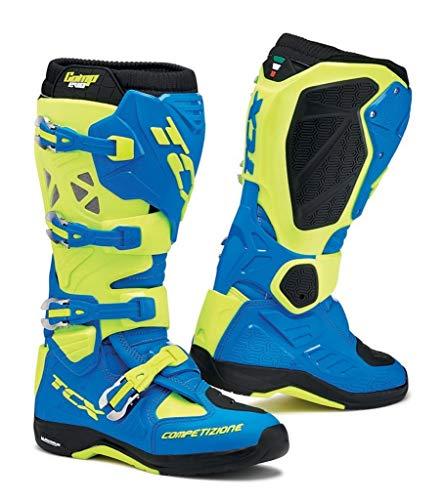 TCX Rush Waterproof Boots Black//Fluorescent Yellow EU 47 // US 12.5