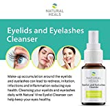 Natural Heals Eyelid and Eyelashes Cleanser