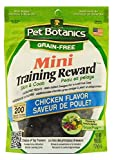 Image of Pet Botanics Mini Training Rewards Grain-Free Chicken Treats For Dogs (1 Pouch), 4 Oz