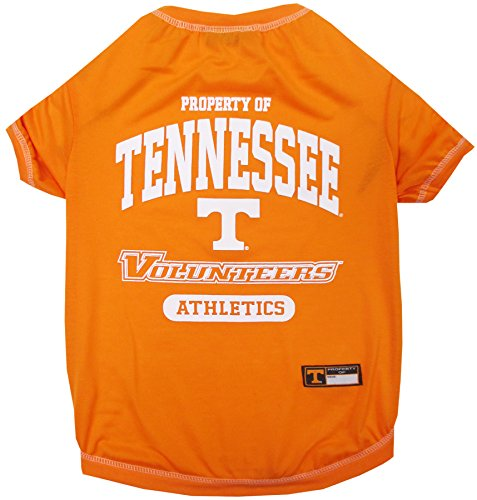 (NCAA Tennessee Volunteers Dog T-Shirt, X-Small)