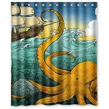 Amazon Octopus Shower Curtain