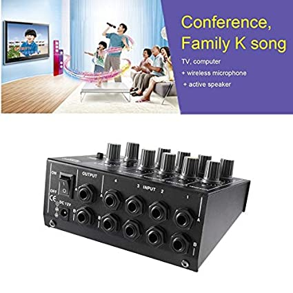 Karaoke - Mesa de mezclas digital de 8 canales para karaoke ...