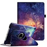 Fintie iPad Pro 9.7 Case - 360 Degree Rotating Stand Case with Smart Protective Cover Auto Sleep/Wake Feature for Apple iPad Pro 9.7 inch (2016 Version), Galaxy