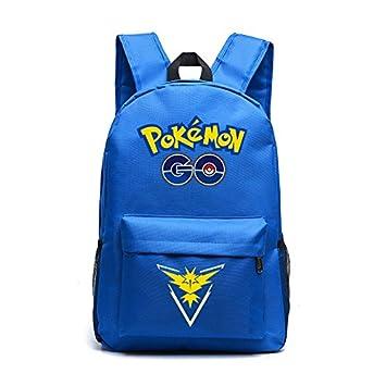 2016 Famoso Pokemon Go Mochila Gengar Mochilas Escolares para Adolescentes Niñas Mochila: Amazon.es: Hogar
