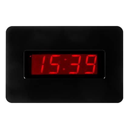 Amazoncom Kawanwa Digital Wall Clock Large Display Battery