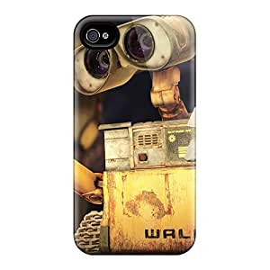 Tpu Fashionable Design Wall E Rubiks Cube Rugged Case Cover For Iphone 4/4s New