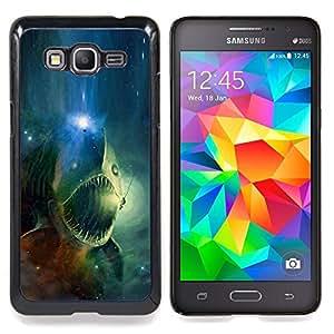 SKCASE Center / Funda Carcasa protectora - Espacio cráneo Fish;;;;;;;; - Samsung Galaxy Grand Prime G530H / DS