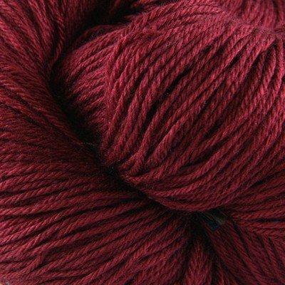Valley Yarns Charlemont Fingering Weight Sock Yarn, Superwash Merino Wool/Silk/Polyamide - Burgundy