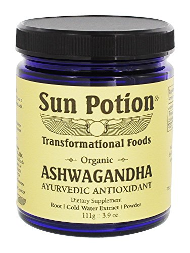 ndha Root Powder 111g - Ashwaganda Herbal Supplement Healthy Aid for Stress Depression Anxiety Energy Liver Thyroid Adrenal - Premium and All Natural (Pure Energy Elixir)