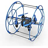 Protocol Neo-Cage RC Drone | Able to Perform Banked Turns and 360° Flips with Its 6-Axis Gyro Stabilizer for Precise Flight | Roll Cage for Ground Locomotion and Impact Resistant Shield
