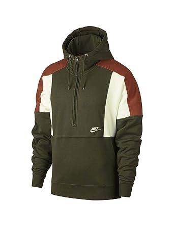 af119750 Nike Re-Issue Hz Flc Hoodie For Men, Size S (OLIVE CANVAS/DARK ...