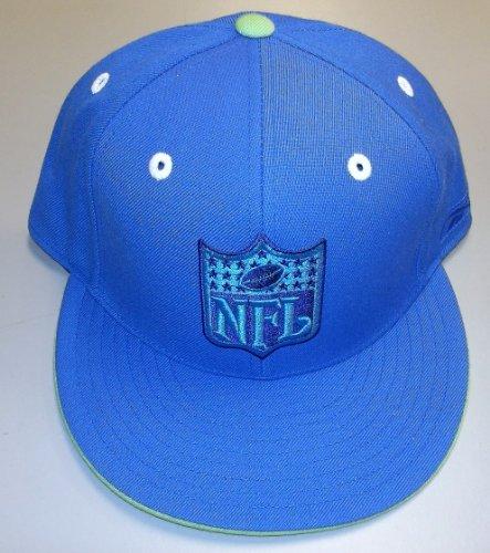 検索ペンスキャンダラスNFLロゴKolors Fitted Flat Bill Hat By Reebokサイズ7 3 / 4