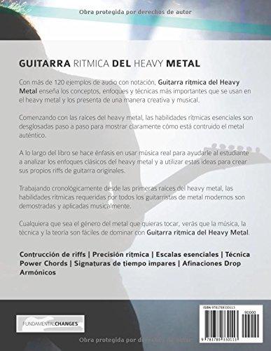 Guitarra rítmica del Heavy Metal: La guía esencial para la guitarra del Heavy Metal (Spanish Edition): Mr Rob Thorpe, Mr Joseph Alexander, ...