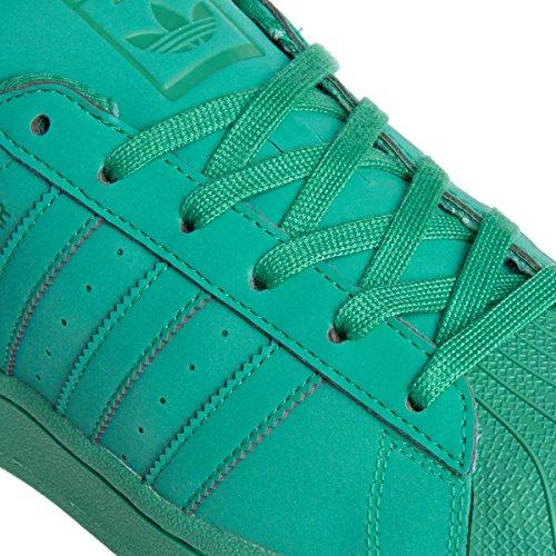 adidas Originals Superstar II Unisex-Erwachsene Sneakers Grün
