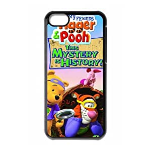 Tigger & Pooh and a Musical Too iPhone 5c Cell Phone Case Black Pazwd