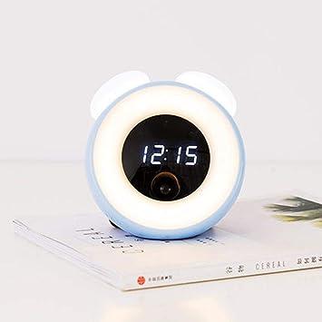 Hhcc Uhr Pilz Intelligenten Sensor L Ed Nachttischlampe