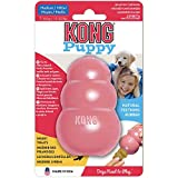 KONG - Puppy Toy Natural Teething Rubber - Fun to
