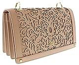 Roberto Cavalli HXLPD3 020 Beige Shoulder Bag for Womens