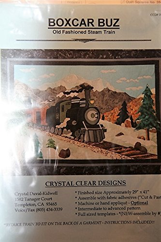 Old Fashioned Steam Train Quilt Pattern - Finisehd Size 29