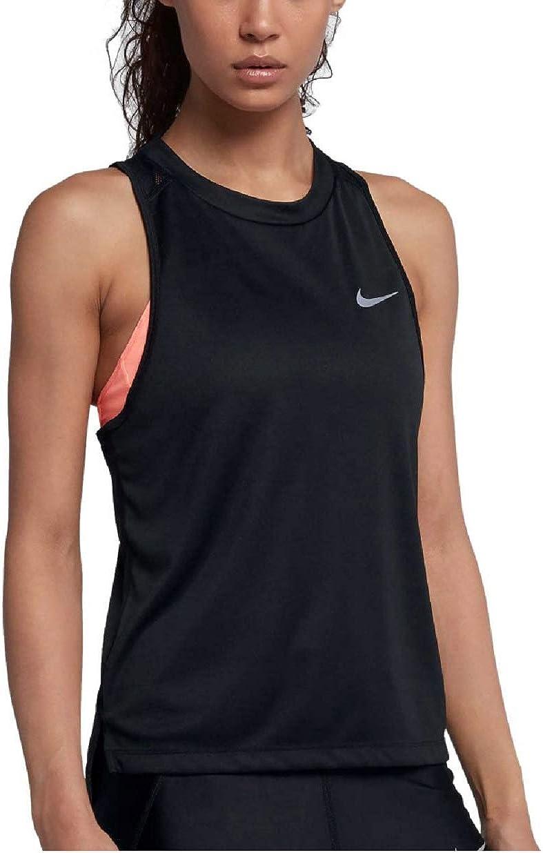 Nike Womens Dry Miler Running Tank Top