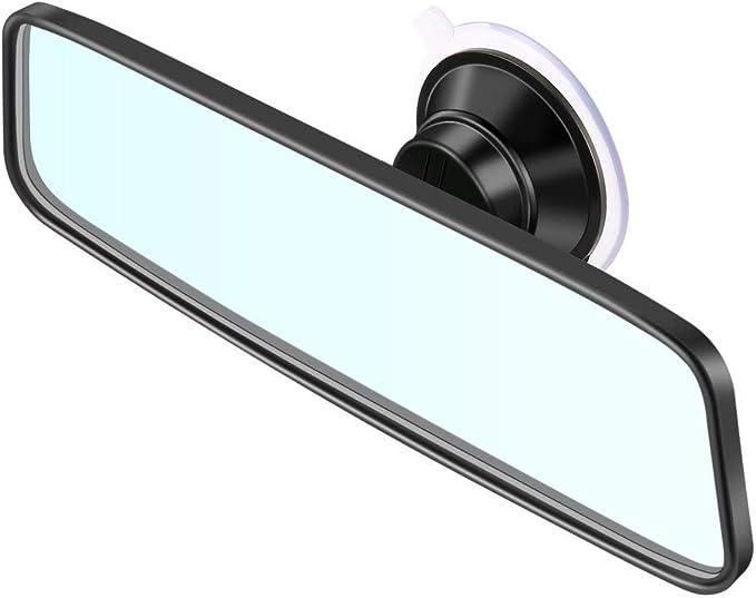Specchietto retrovisore auto universale Specchietto retrovisore grandangolare Specchietto retrovisore interno auto automatico con ventosa in PVC CZC-100 Kaemma